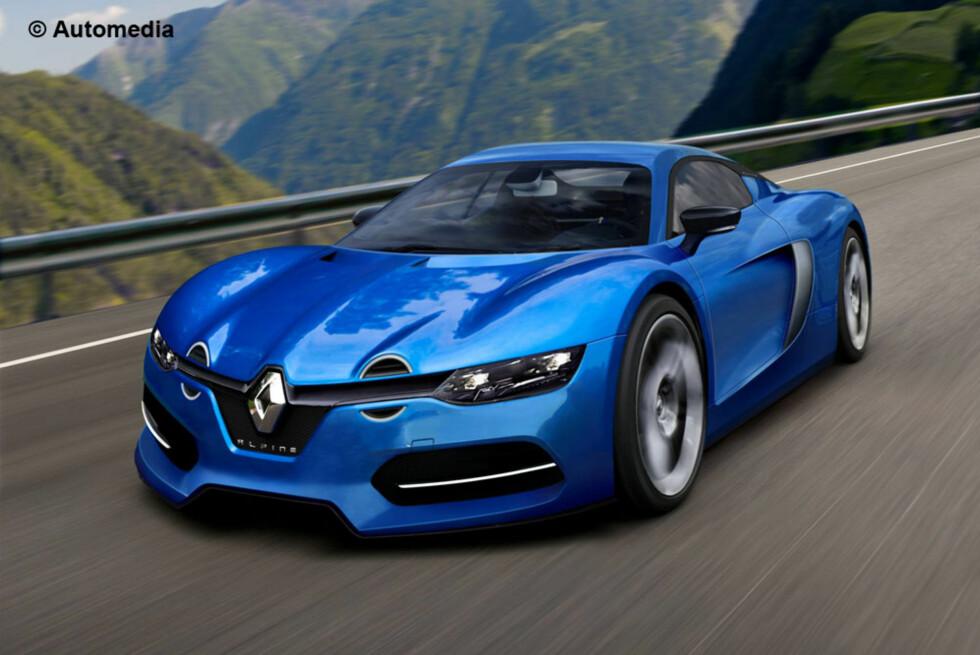 GJENOPPSTÅR: Det ble nylig bekreftet at sportsbilmerket til Renault, Alpine, skal gjenoppstå. Den skal presenteres for publikum under Le Mans-løpet i juni. Der kommer vi til å være... Foto: AUTOMEDIA