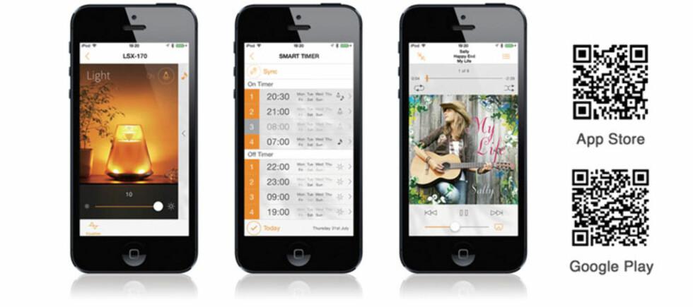 APPSTYRING:  Til Android og iOS.
