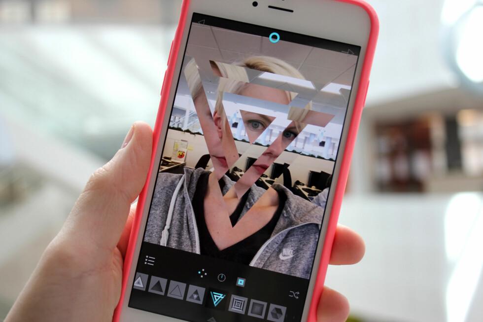 BRUK NOE ANNET: Det finnes mange fotoapplikasjoner som kan gjøre mer enn det innebygde kameraet. Dette bildet er tatt med Fragment. Foto: KIRSTI ØSTVANG