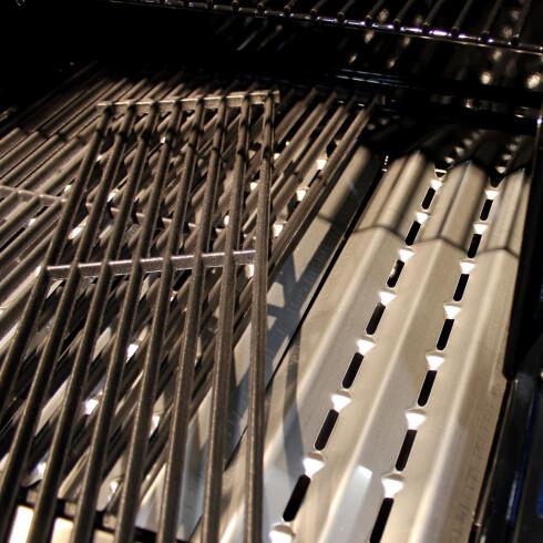 HERFRA KOMMER SMAKEN: Ikke vask disse for mye, mye av smaken kommer fra nederste rist. Foto: KRISTIN SØRDAL