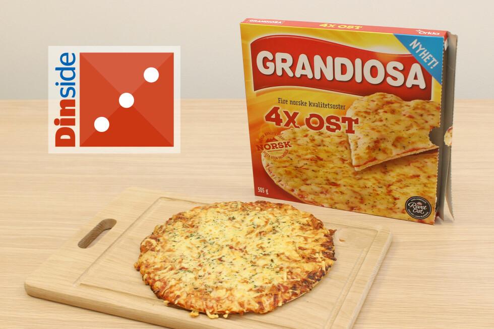 LITE SPENNENDE: Vi skulle ønske de hadde turt å velge en litt mer spennende ost. Foto: OLE PETTER BAUGERØD STOKKE