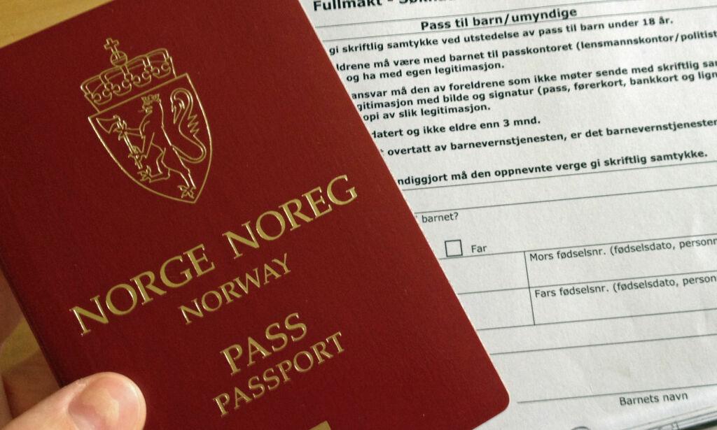 image: Huskeliste for deg som skal søke om pass til barna