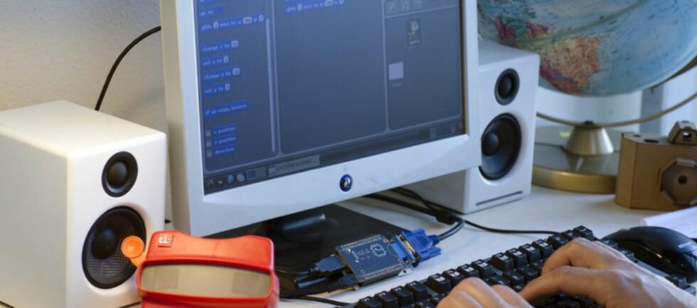 LITEN: CHIP er en Linux-basert PC til bare 9 dollar. Foto: The Next Thing Co.