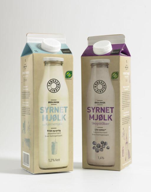 GJØR BAKSTEN SAFTIG: Syrnet melk gir brødet og rundstykkene ekstra gode - bruk det i stedet for melk og vann. Foto: Rørosmeieriet