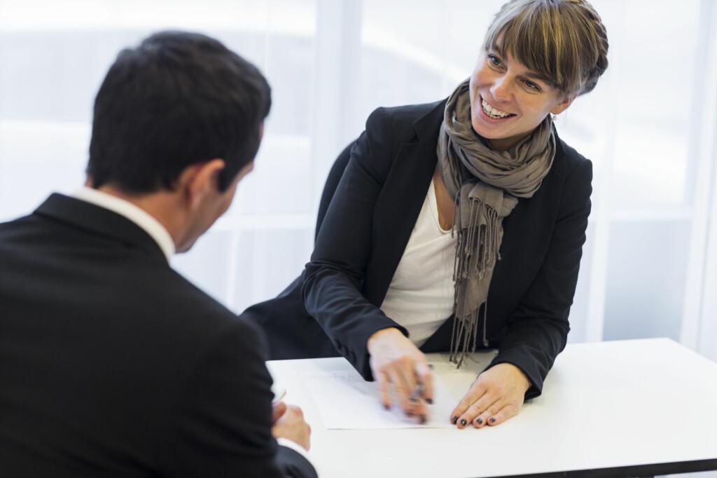 <b>FORBERED DEG:</b> Skal du lykkes på jobbintervju, bør du gjøre flere forberedelser. Foto: JOHNER IMAGES/NTB SCANPIX