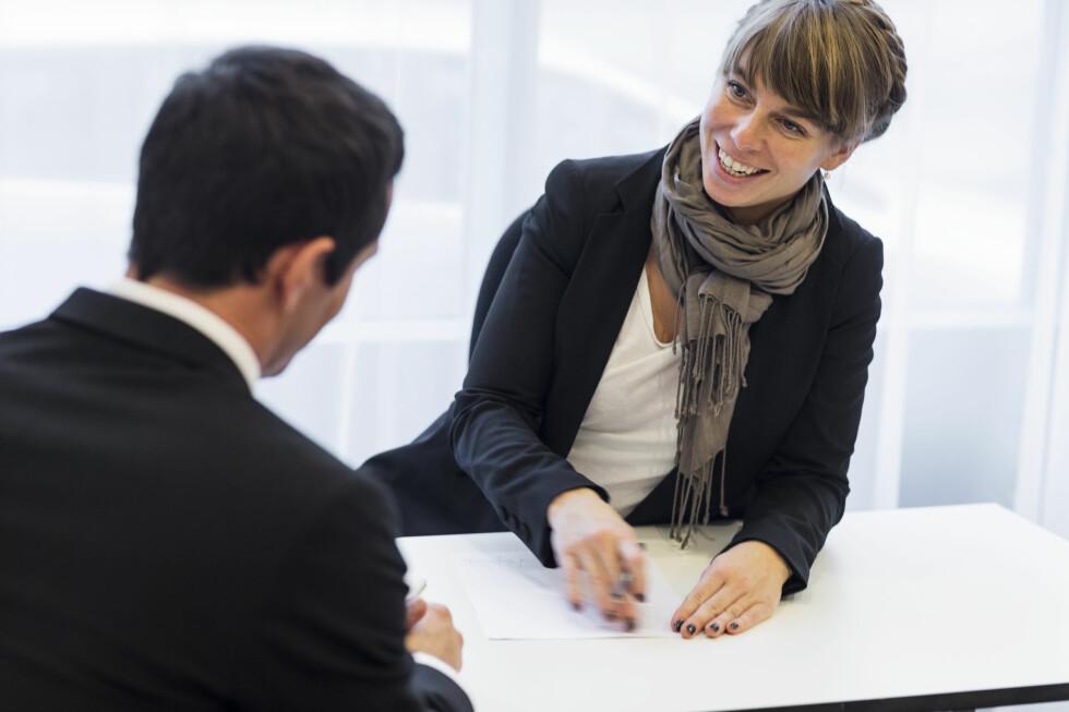 FORBERED DEG: Skal du lykkes på jobbintervju, bør du gjøre flere forberedelser. Foto: JOHNER IMAGES/NTB SCANPIX