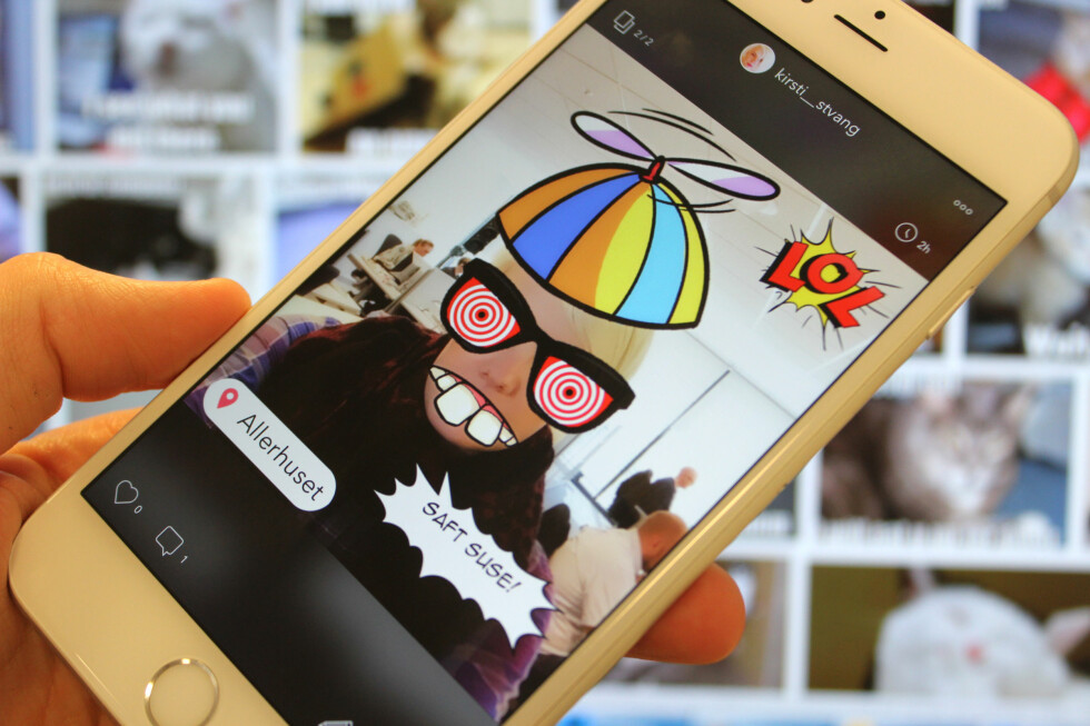 VIL DETTE SLÅ AN? Thred er en ny app som håper å ta verden med storm.  Foto: KIRSTI ØSTVANG