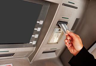 Fem bankkorttabber du må styre unna