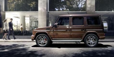 image: Mercedes-Benz G-klasse oppdateres