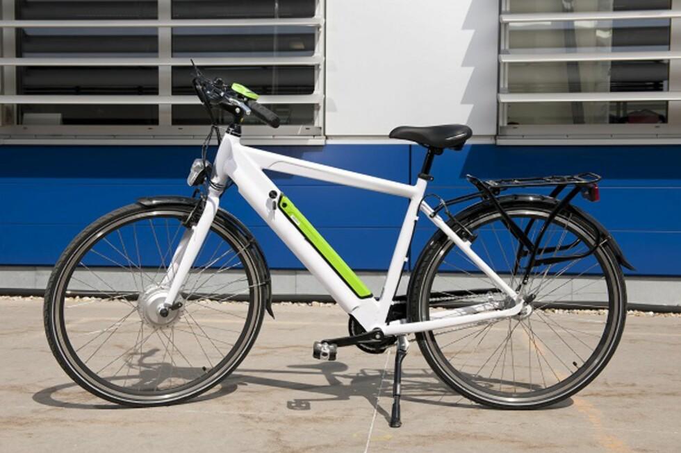 LIK FJORÅRSMODELLEN: IKEA-sykkelen «Folkvänlig» kostet 6000 i Sverige. Det er uklart om den kommer til Norge. Foto: IKEA