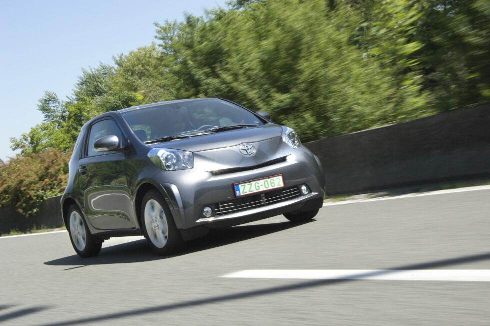 <strong><B>LITEN, MEN GOD:</strong> </B>Lille Toyota IQ topper lista over den mest driftsikre bilen.