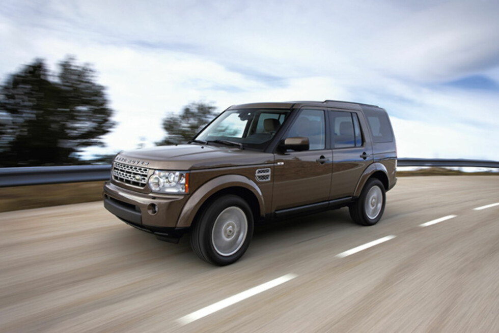 <strong><B>ENGELSK LUKSUS:</strong> </B>Land Rover Discovery  4 er den mest komfortable bilen, ifølge britene. Foto: LAND ROVER