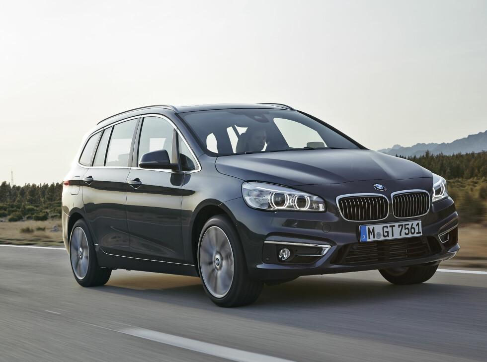 GJENKJENNELIG: Fronten er typisk BMW. Foto: BMW
