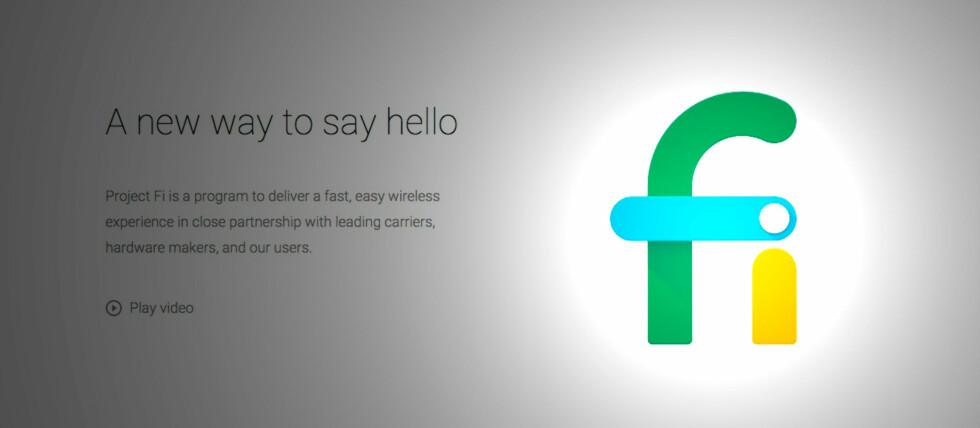 <strong><strong>NYTT PROSJEKT:</strong></strong> Nå har Google blitt en mobiloperatør i USA.