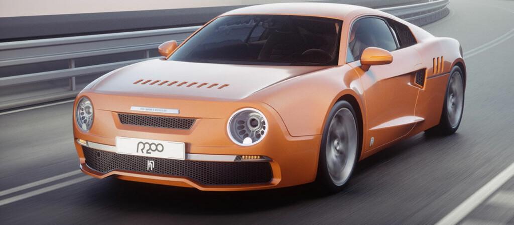 <b>FEIRER:</b> Sånn kan det gå når entusiaster vil feire en gammel kjenning. Audi R8 konverteres til R200 når Skoda 130 RS skal hylles.  Foto: Produsenten