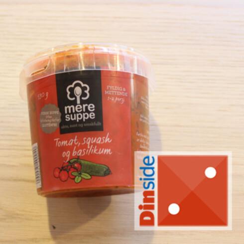 Tomatinnhold: 33 prosent tomat, 8 prosent hermetisk tomat, 5 prosent tomatpuré. Pris: 54,90 kr, Meny Foto: ELISABETH DALSEG