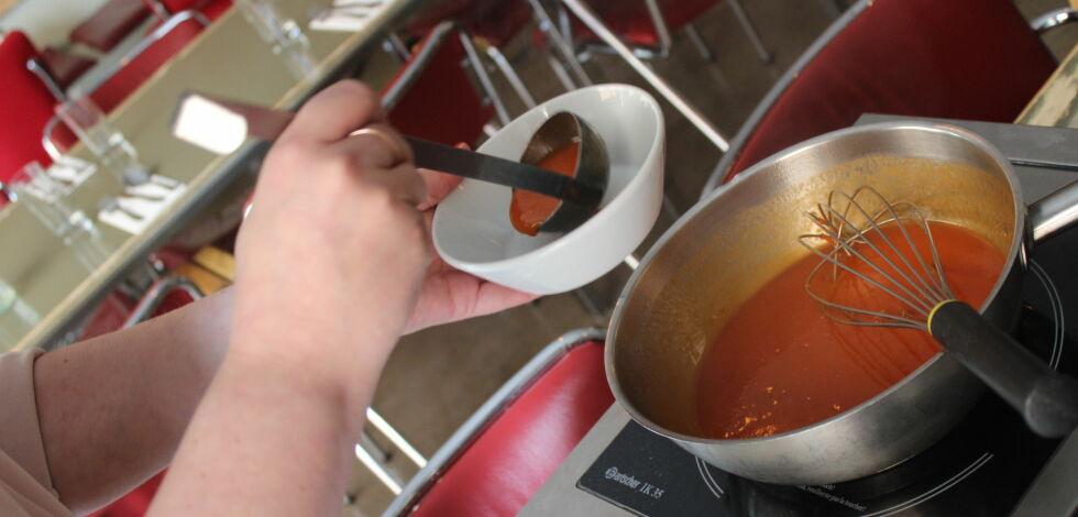 image: Test av tomatsuppe