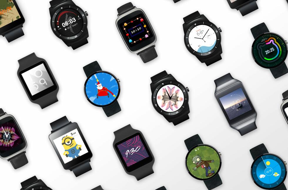 ENDELIG SKJER DET NOE: Google er klar med den største Android Wear-oppdateringen på lenge. Foto: GOOGLE