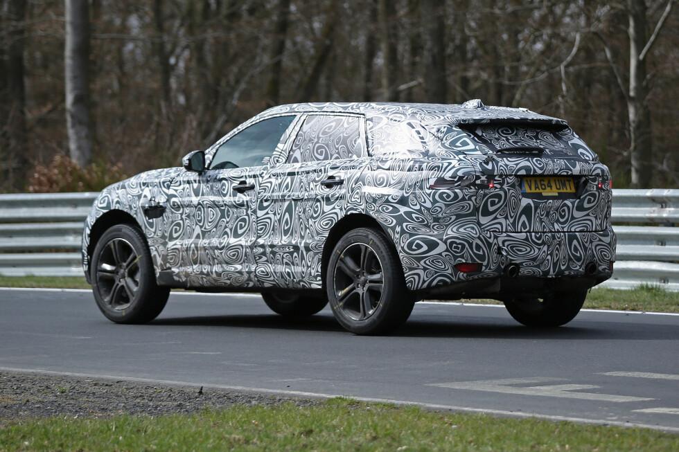NOE HELT ANNET: Jaguar hevder at nykommeren ikke er en SUV og ikke en crossover. Foto: AUTOMEDIA