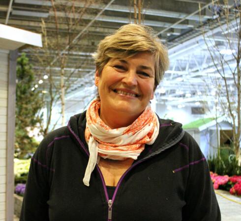 MYE Å GJØRE: Merete Bellingmo er daglig leder i naml, og sier at etterspørselen etter anleggsgartnere er mye større enn tilbudet. Foto: KRISTIN SØRDAL