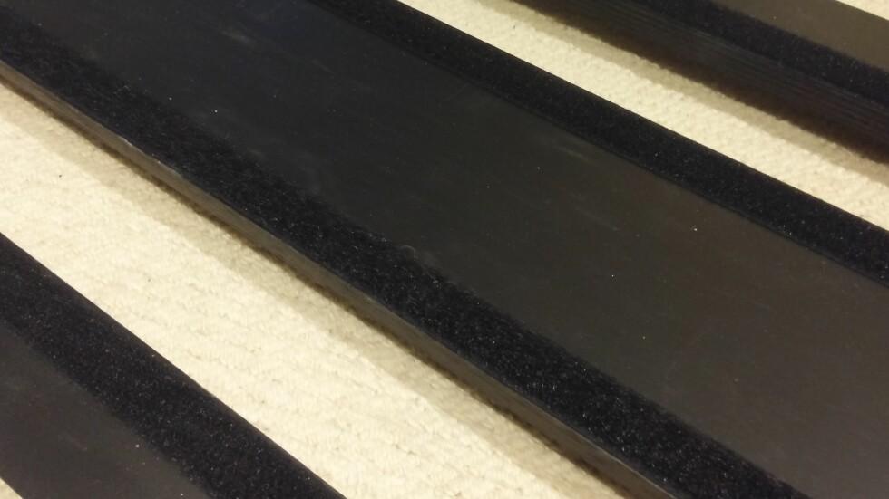 DET HOLDT! Borrelåstapen løsnet ikke noen steder, både den og Plasti-dip sitter som de skal. Foto: BRYNJULF BLIX