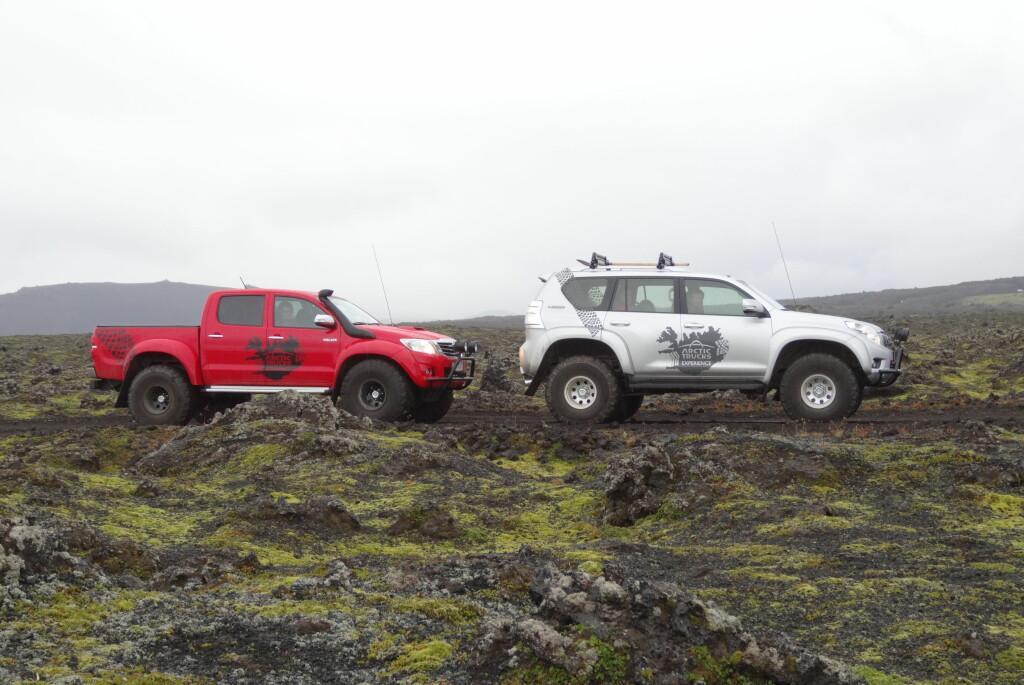 <b>SLIK OPPLEVER DU ISLAND BEST:</b> Island egner seg best for høyreise offroadere. Foto: Fred Magne Skillebæk