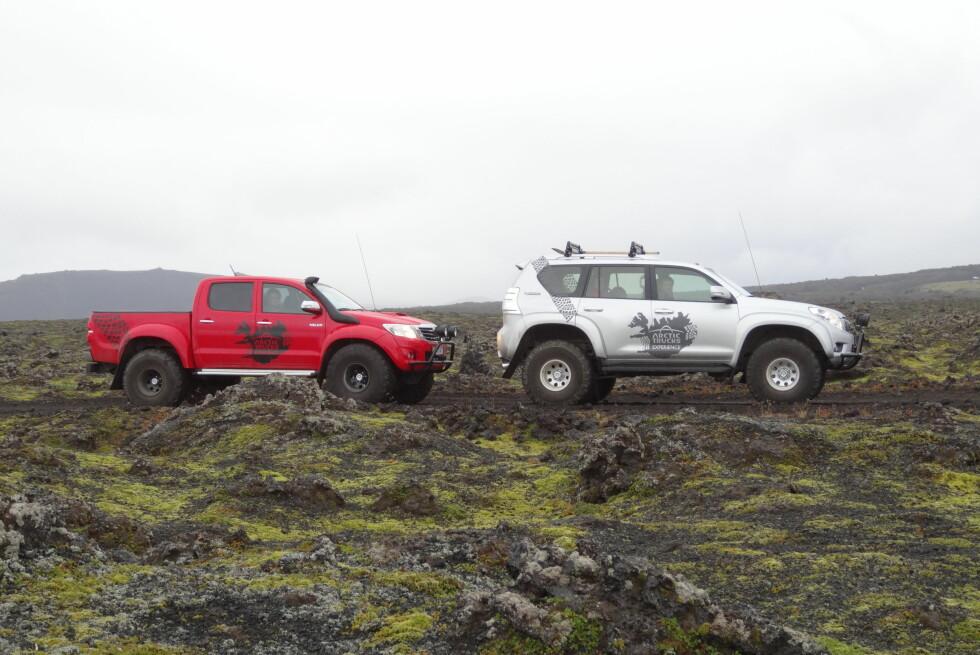 SLIK OPPLEVER DU ISLAND BEST: Island egner seg best for høyreise offroadere. Foto: Fred Magne Skillebæk