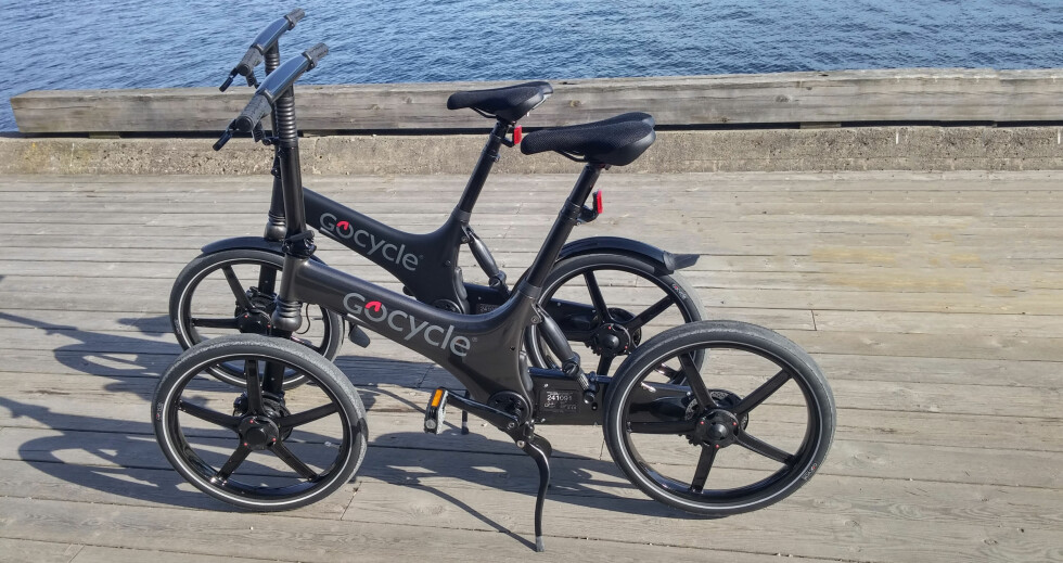 FARGER: Gocycle finnes også i grå metallic og matt sort. Skjermer er ekstrautstyr. Foto: BRYNJULF BLIX