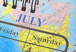 Når skal du ha innvilget ferie?