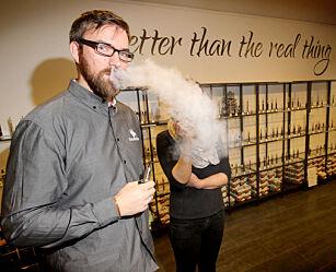 image: Reiser til Sverige for å kjøpe e-sigaretter