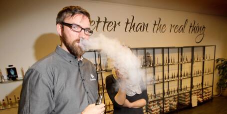 Reiser til Sverige for å kjøpe e-sigaretter