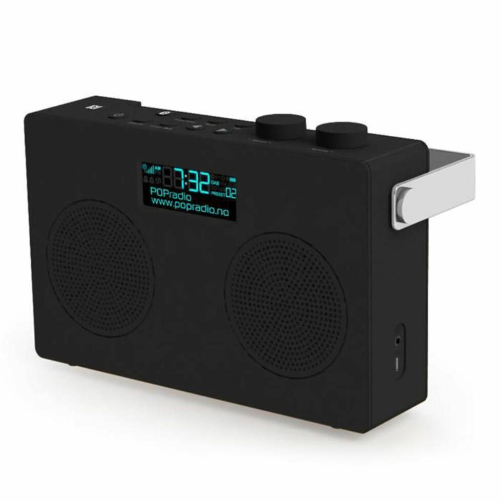 MYE FOR PENGENE: POPduo gir deg helt anstendig lyd og Bluetooth i tillegg. Meget bra radio til pengene. Foto: SIBA