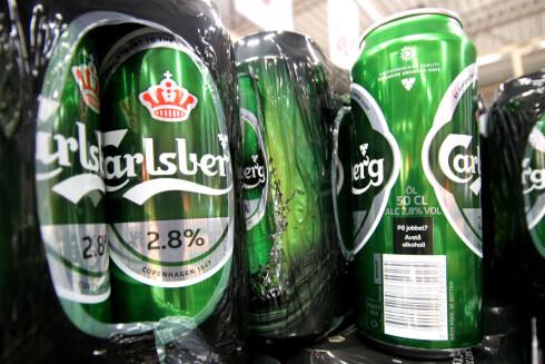 BINGO: Finner du en øl med 2,8 prosent alkohol, kan det være penger å spare. Foto: OLE PETTER BAUGERØD STOKKE