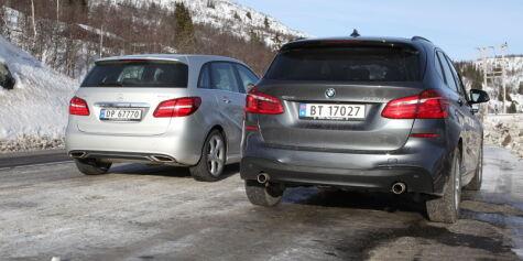 image: Test: BMW 220d xDrive Active Tourer mot Mercedes-Benz B220 4Matic