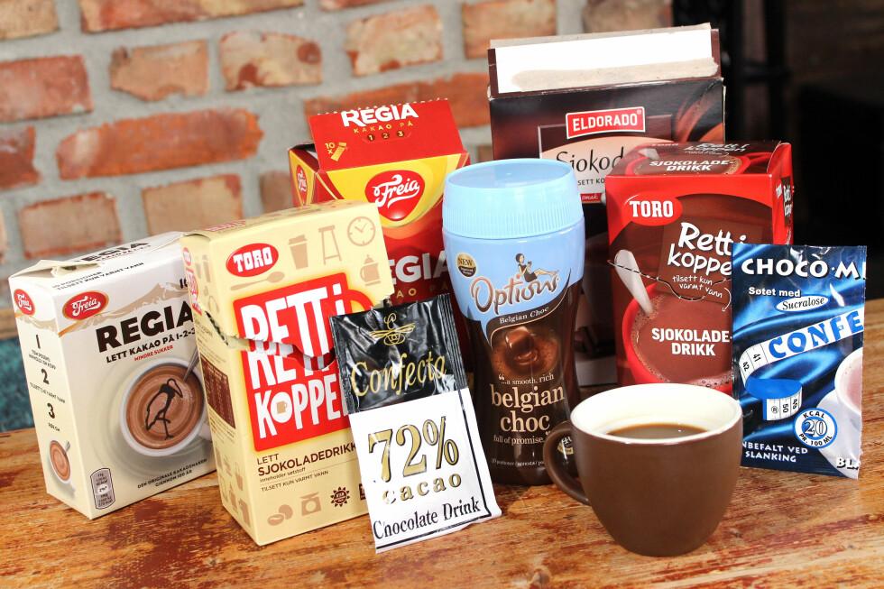 POSEKAKAO: Lett å pakke, lett å bære, men det er stor forskjell på hvor godt det smaker og hvor sunne de er. Foto: OLE PETTER BAUGERØD STOKKE