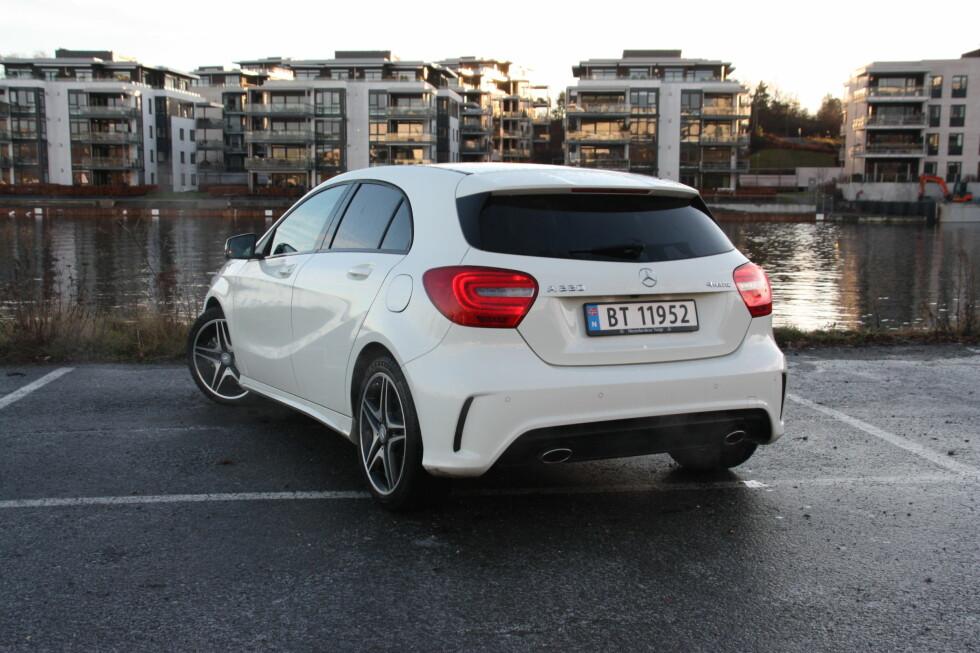 KOMPAKT FAVORITT:  For mange er A-klassen den beste bilen i sitt segment.  Foto: KNUT MOBERG
