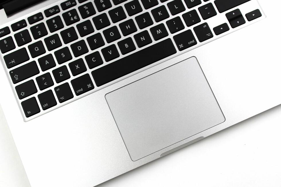 BLIR ENDA MER AVANSERT: Apple har lansert en ny styreflate som kan brukes til enda mer enn før. Men hva er det som er så spesielt med «Force Touch»? Foto: KIRSTI ØSTVANG