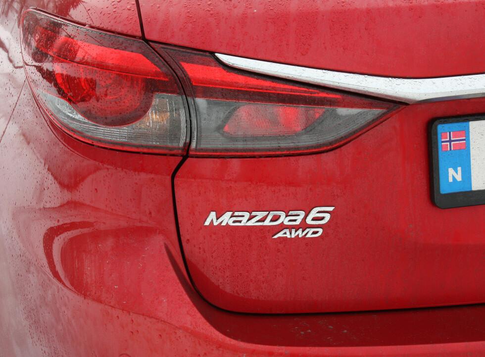 NORGES-VERSJONEN: Med firehjulsdrift er nå Mazda 6 stasjonsvogn adskillig bedre tilpasset det norske markedet. Foto: KNUT MOBERG