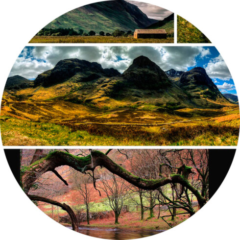 JORDPORNO: Du er garantert mange gode bilder om du setter skjermspareren til «earthporn» på Flickr.