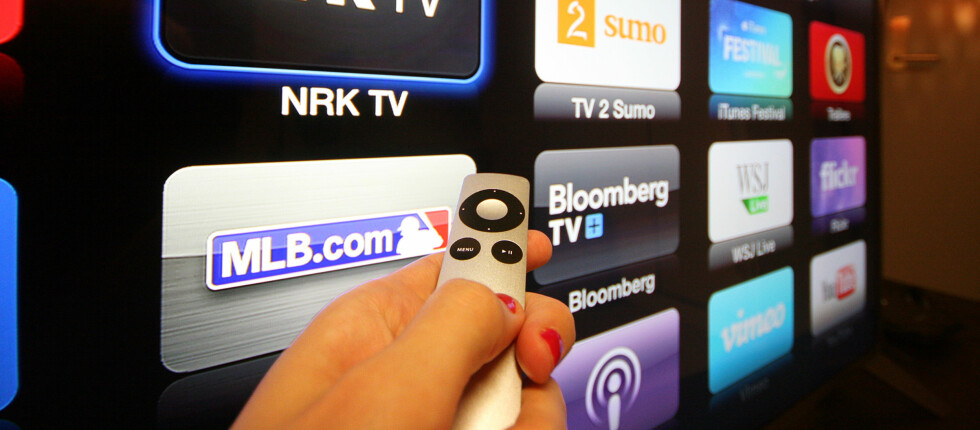 POPULÆR BOKS: Mange nordmenn har gått til anskaffelse av Apple TV. Foto: KIRSTI ØSTVANG