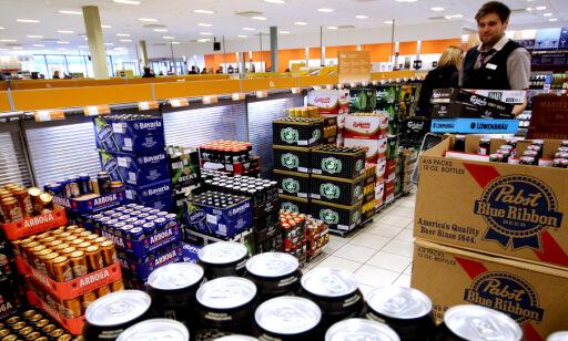 image: Det er 20-årsgrense på øl og vin hos Systembolaget