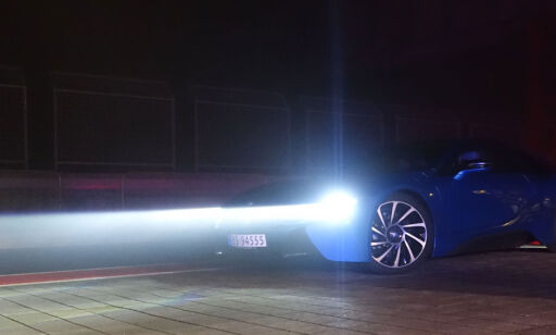 image: Vi kjører BMW med laserlys