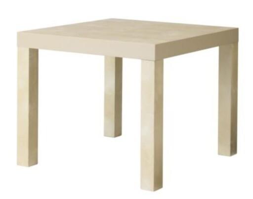 ALLER BILLIGST: IKEA-bordet Lack til 59 kroner kan være byggestein i et hifi/hjemmekinorack. Foto: IKEA