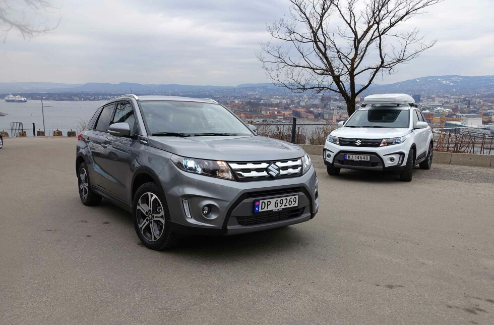 ARVTAGEREN: Nye Suzuki Vitara overtar etter den nå utdaterte Grand Vitara. Foto: KNUT MOBERG