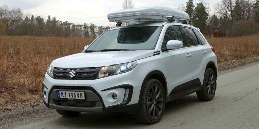image: Vi har kjørt nye Suzuki Vitara