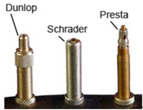 <strong><B>VENTILER:</strong></b> Ikke alle pumper passer til alle tre typene. Foto: WISTIO