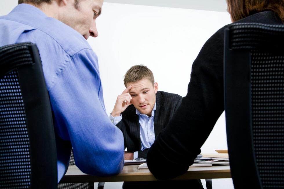 VANSKELIGERE? Enklere tilgang til å ansette arbeidstakere midlertidig kan være negativt for norske arbeidstakere. Foto: COLOURBOX