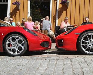 image: Duell: Alfa Romeo 4C eller Porsche Cayman?