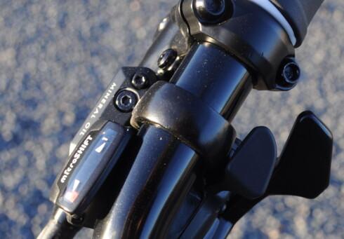 GIR: Sykkelen har bakhjulsgir i åtte trinn. Foto: TORE NESET