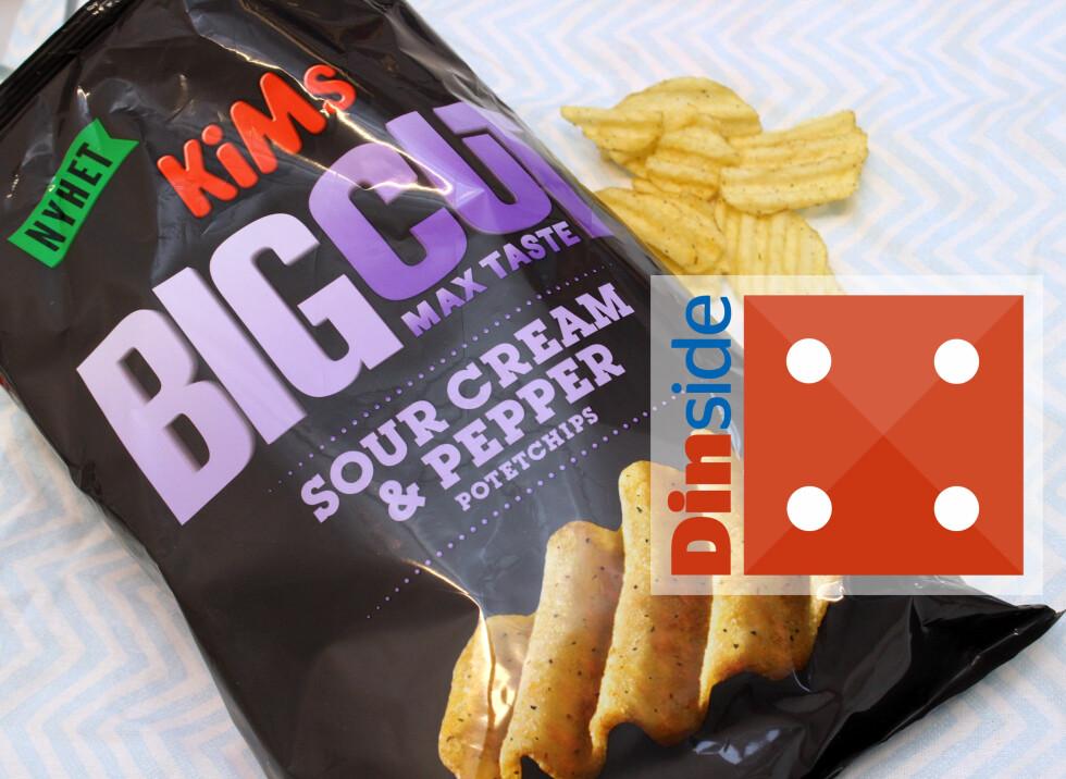 <strong><b>MED PEPPER:</strong></b> 190 gram, 547 kcal og 1,5 gram salt per 100 gram vare. Foto: KRISTIN SØRDAL